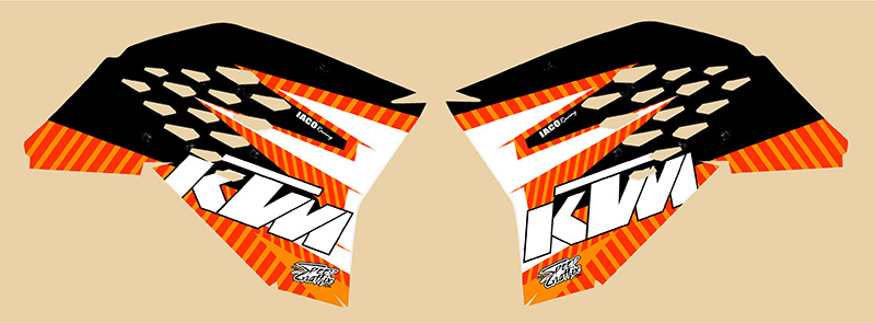 johnston-2008-ktm-sx-shrouds-only