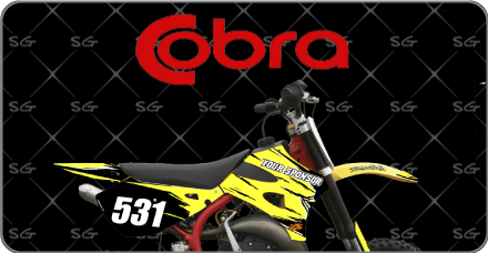 Motocross Graphics Kits For Cobra